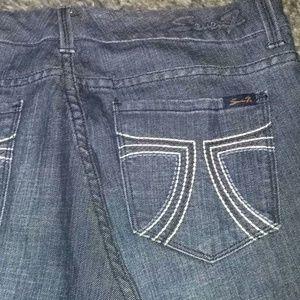 Seven 7 Wide Leg Flare Trouser Jeans Women's 14